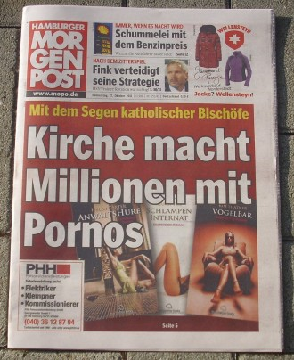 Weltbild - Catholic porn novels-newspaper