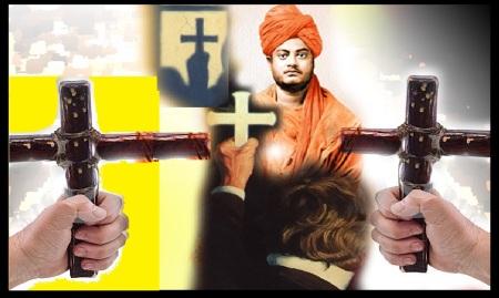 Christians attack Vivekananda