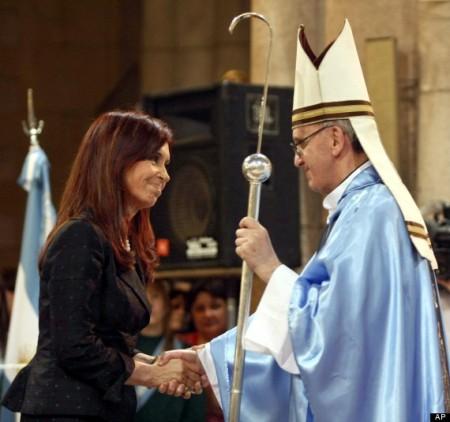 Cristina Fernandez, Jorge Bergoglio