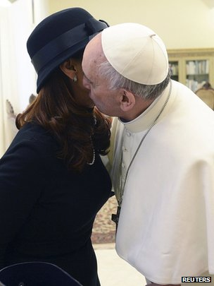 Kirchner  Pope lose encounters 2013