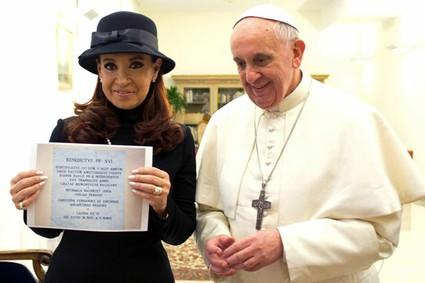 Kirchner_Pope_Francis 18-03-2013