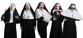 Nuns enjoying life
