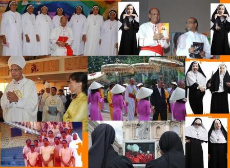 Oswald Gracias with nuns