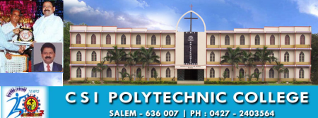 CSI Polytechnic college Samson Ravindran