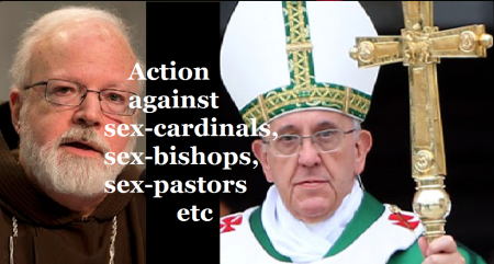 Action against sex-cardinals, bishops, pastors etc Dec.2013