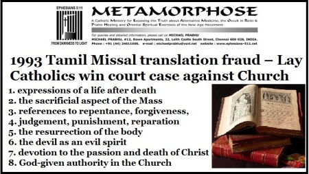 Christian row over Missal