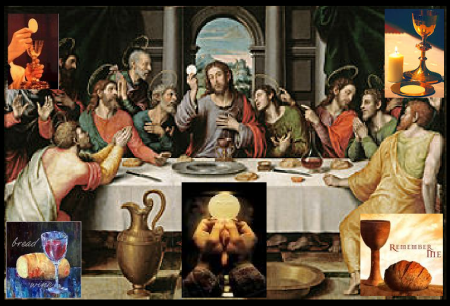 Eucharist medieval or modern depiction