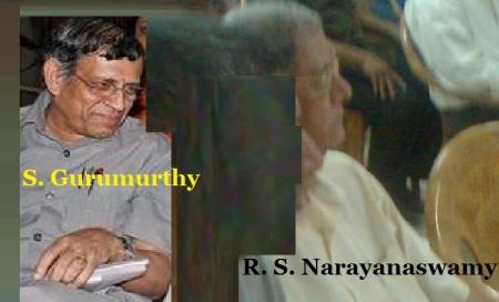 S Gurumurthuy and RSN