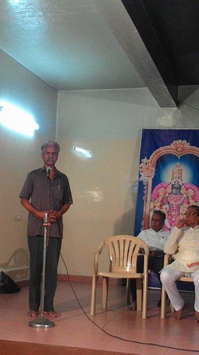 9. S. Ramachandran speaking-Haran