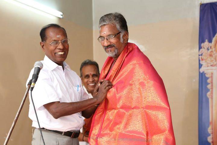 27. B.R. Haran honoured