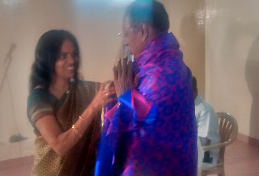 28. Kasivelu honoured by Jayanti