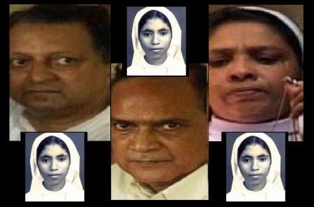 Abhaya murder case - the three accused