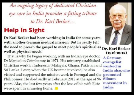 Dr Karl Beckar 1916-2012