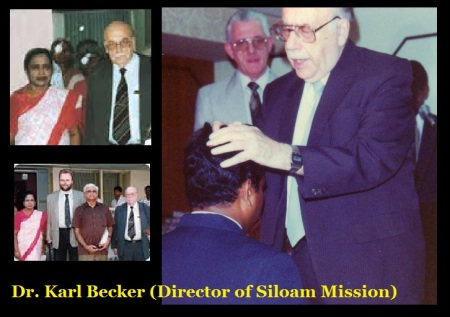 Dr. Karl Becker -Director of Siloam Mission.