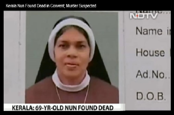 Kerala nun -Amla-murdered September 2015