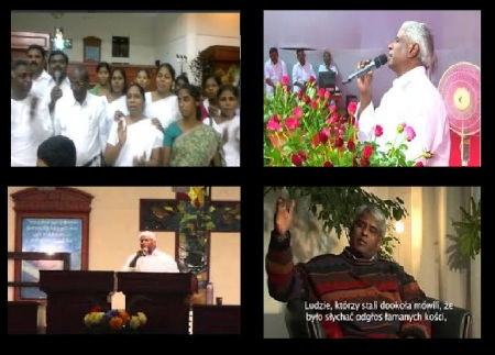 Mose Ministries Trichy - Gideon Jacob evangelist-different postures