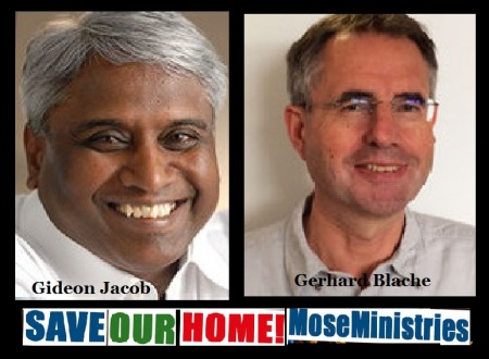 Mose Ministries Trichy - save our home propaganda by Gerhard Blache