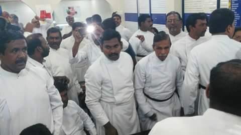 பாஸ்டர்கள் ரகளை மார்த்தாண்டம் 20-10-2015