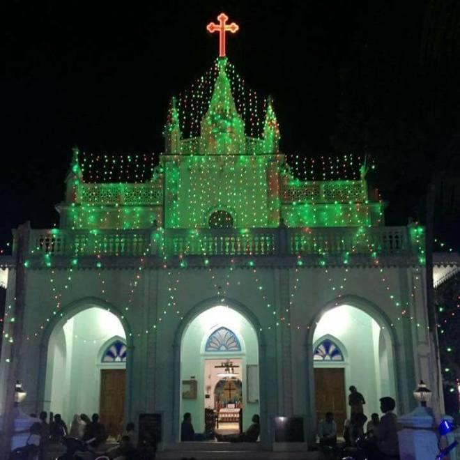 லீபுரம் சர்ச், கன்னியாகுமரி