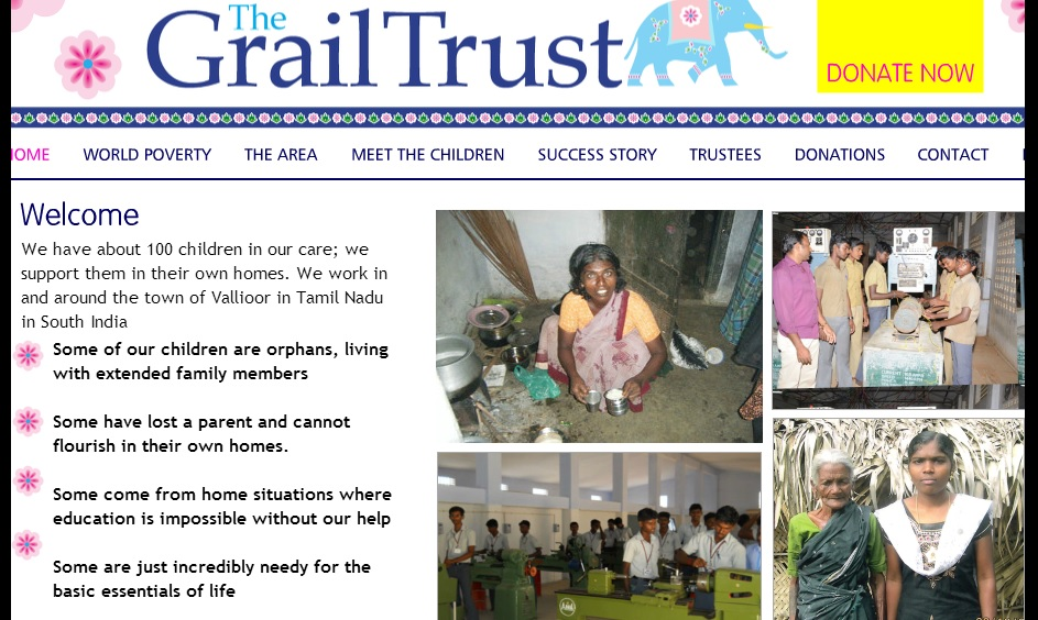 The Grail trust targeting Tamilnadu-home page