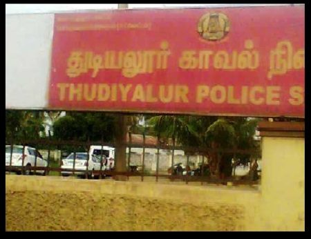 Isaac arrested - thudiyalur police station