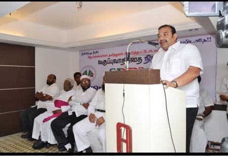 Inigo Hrudayaraj, political- in SDPI on tolerance meeting Jan.2016