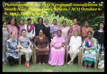 Participants at the IAWN regional consultation in South Asia. Photo- Ilona Sabera - ACO