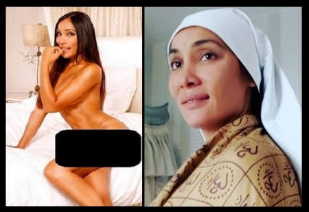 nude and nun - Sofia Hayat