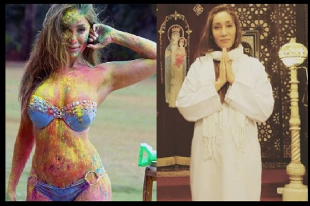Sofia Hayat converted to Christian nun