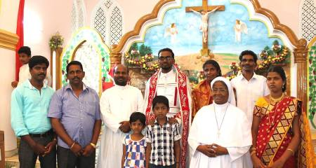 Maria Sobu, Kappiyarai in church