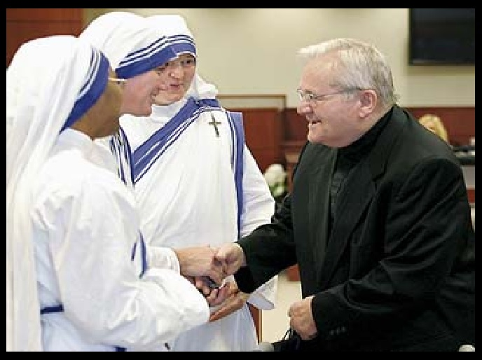 Pedophile Fr. McGuire - spiritual director of Mother Teresa and her Missionaries of Charity