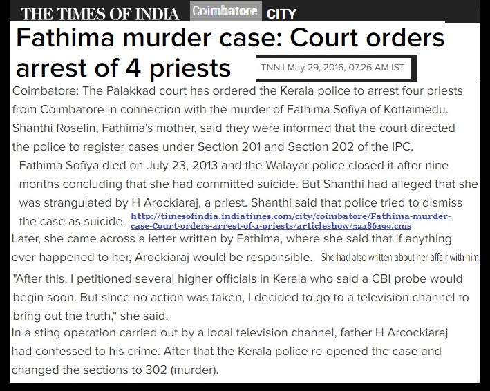 Bishop Thomas Aqunas, Coimbatore diocese-arrested -Times of India