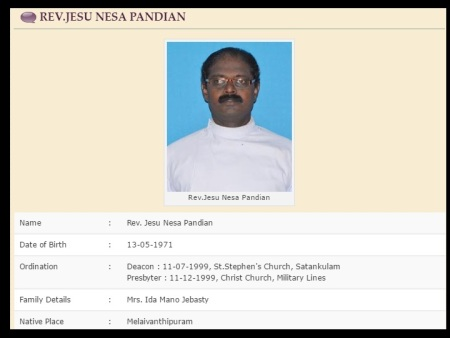CSI Church Jesu Nesa Pandian - 26-06-2017