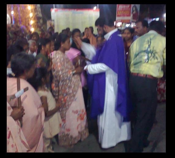 G. Christu Raj Gali, Rector, Parish priest, St.Patrick Church, Parangai malai-2