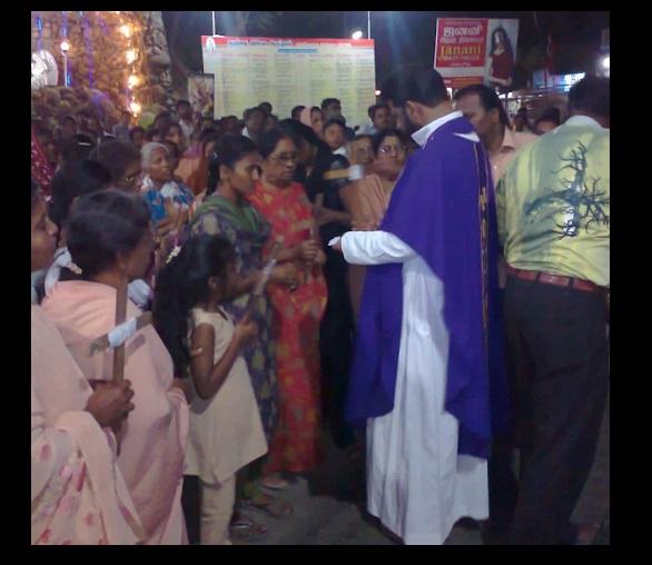 G. Christu Raj Gali, Rector, Parish priest, St.Patrick Church, Parangai malai-3