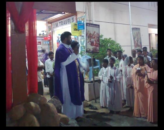G. Christu Raj Gali, Rector, Parish priest, St.Patrick Church, Parangai malai