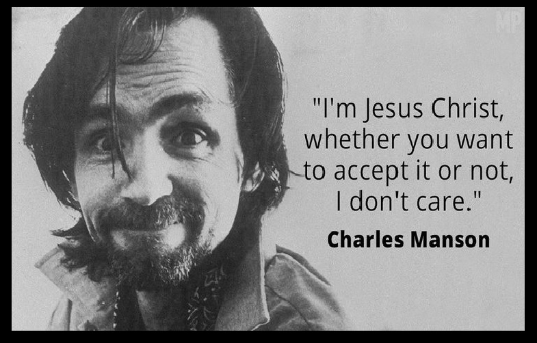 Charles Mansen, jesus christ