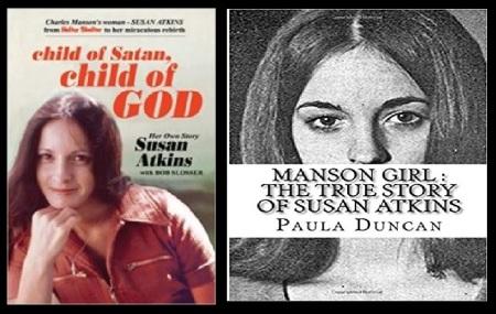 Charles Manson books sold-Susan Atkins