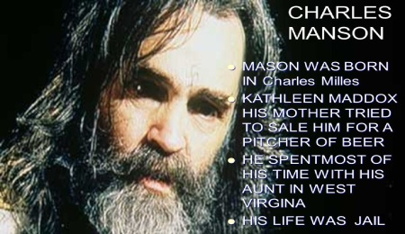 Charles Manson - childhood shattered