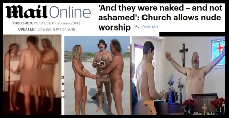 Nude worship allowed in Christianity - theology