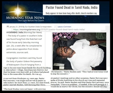 Pastors commit suicide, Morning star, Hyderabad