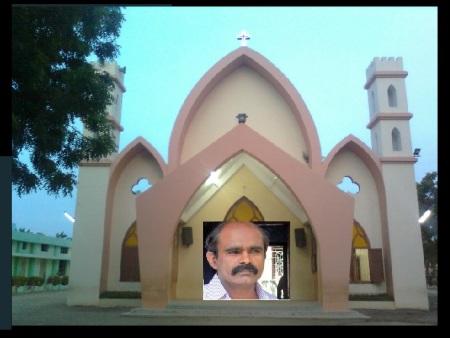 Selvin Durai, pastor-Vadakkur Patrick Church