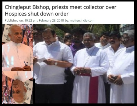 Joseph Hospices-chingleput bishop-collector represented