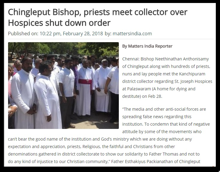Joseph Hospices-chingleput bishop-collector