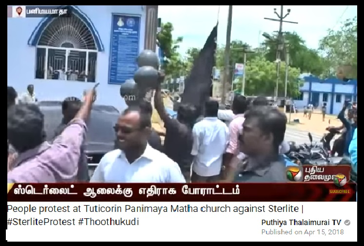 15-04-2018 - Panimayamata church, hub of anti-sterlite-1