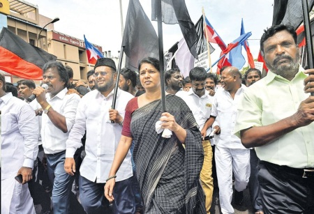 Tuticorin - procession against Sterlite- 26-05-2018