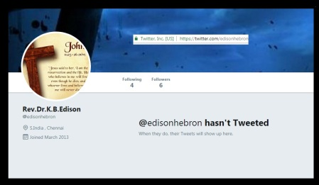 Edison-henbron stopped tweeting
