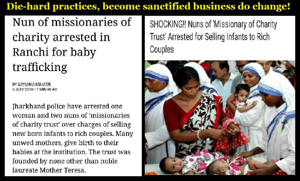 Missionaries of charity sell babies - 05-06-2018