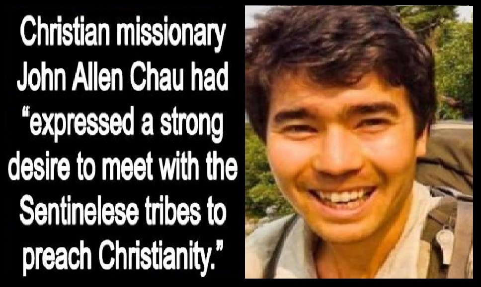 Andaman tribes killed missionary - 21-11-2018-John Allen Chau