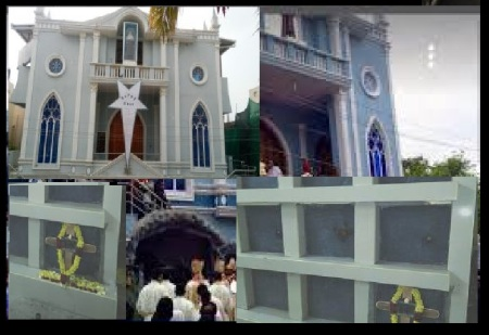 St Alphonsa Syro-Malabar Catholic Church, Pozhichallur- body burried